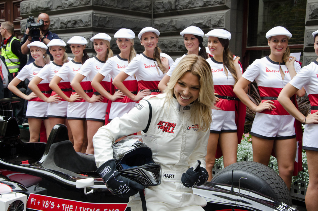 2011 Melbourne F1 Grid Girl Uniform Launch Grandprix20 Com