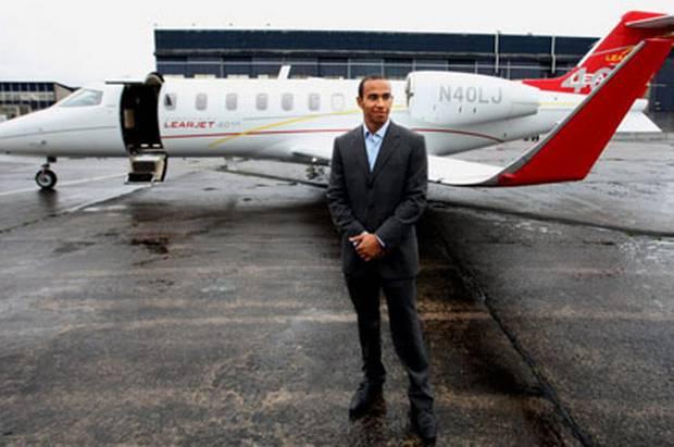 Jet Privato Hamilton : Hamilton 'splashes out £ m on private jet grandprix