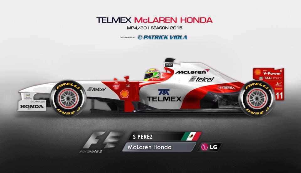 2014 mclaren with telmex sponsorship livery concept – grandprix20