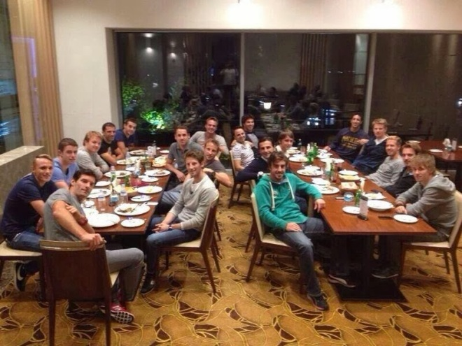 Drivers dinner korea